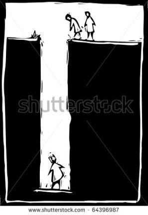stock-vector-simple-woodcut-image-of-a-person-trapped-at-the-bottom-of-a-hole-64396987