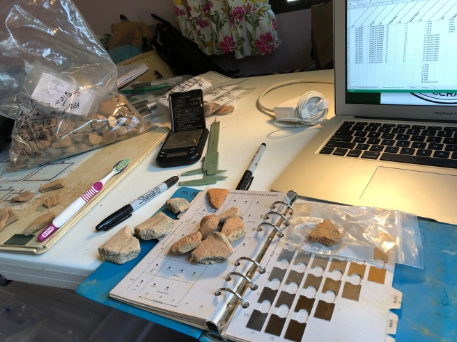 Pottery analysis