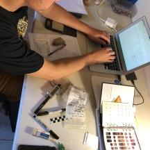 Lithic analysis