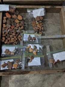 Drying artifacts